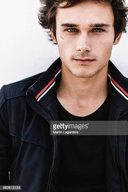 Actor Fabian Wolfrom is photographed for Self Assignment on October 5 2015 in Saint Jean de Luz France