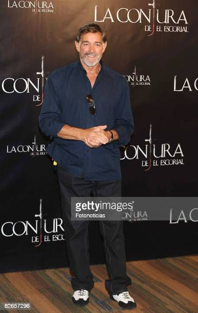 Actor Fabio Testi attends a Photocall for 'La Conjura de El Escorial' at the Sony Pictures Building on September 4, 2008 in Madrid, Spain.