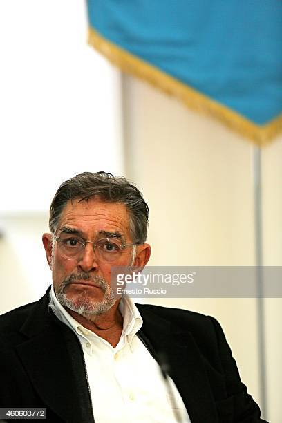 Actor Fabio Testi attends the 'Capri - Holiwood' press conference at Regione Campania on December 17, 2014 Rome, Italy