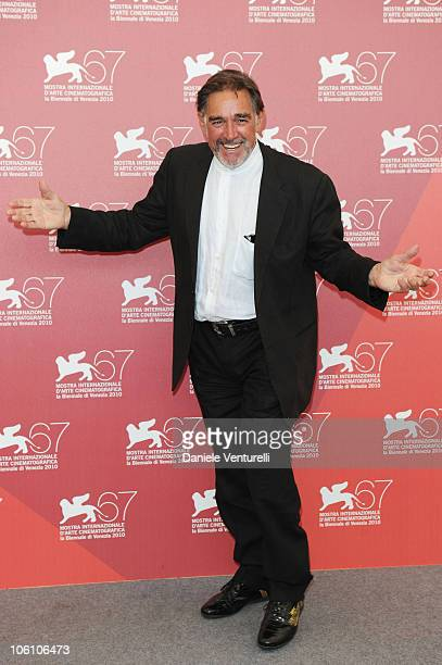 """Actor Fabio Testi attends the """"Road To Nowhere"""" photocall at the Palazzo del Casino during the 67th Venice International Film Festival on September..."""