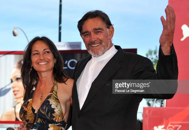 """Actor Fabio Testi attends the """"Road To Nowhere"""" premiere during the 67th Venice Film Festival at the Sala Grande Palazzo Del Cinema on September 10,..."""