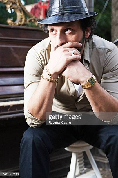 Actor Fabio Troiano is photographed for Self Assignment on September 18 2010 in Rome Italy
