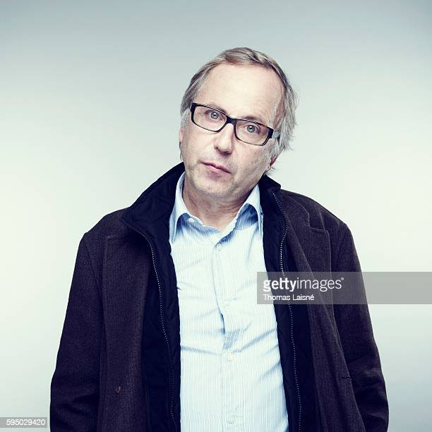 Actor Fabrice Luchini is photographed for Self Assignment on February 4 2011 in Paris France