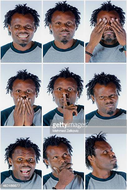 actor facial expressions - goatee stock pictures, royalty-free photos & images