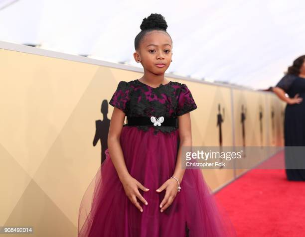 Actor Faithe Herman attends the 24th Annual Screen Actors Guild Awards at The Shrine Auditorium on January 21 2018 in Los Angeles California 27522_010