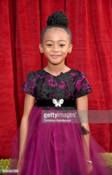 Actor Faithe Herman attends the 24th Annual Screen Actors Guild Awards at The Shrine Auditorium on January 21 2018 in Los Angeles California 27522_009