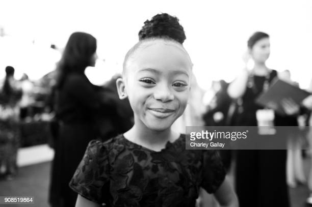 Actor Faithe Herman attends the 24th Annual Screen Actors Guild Awards at The Shrine Auditorium on January 21 2018 in Los Angeles California 27522_008