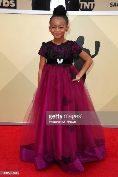 Actor Faithe Herman attends the 24th Annual Screen Actors Guild Awards at The Shrine Auditorium on January 21 2018 in Los Angeles California 27522_017