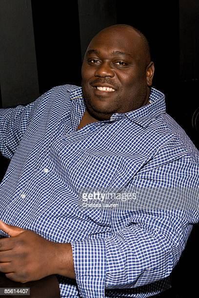 Actor Faizon Love attends the private screening of 'Adopted' at the Comedy Store on March 25 2009 in Hollywood California