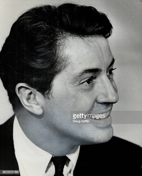 Actor Farley Granger. In Hitchcock's Strangers on a Train at Revue Cinema