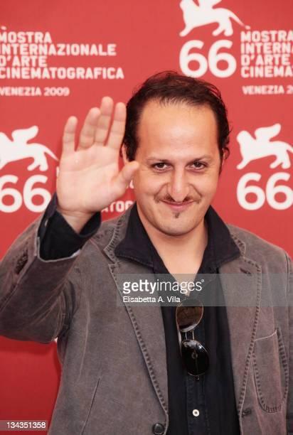 Actor Fausto Russo Alesi attends the La Doppia Ora Photocall at the Palazzo del Casino during the 66th Venice Film Festival on September 10 2009 in...