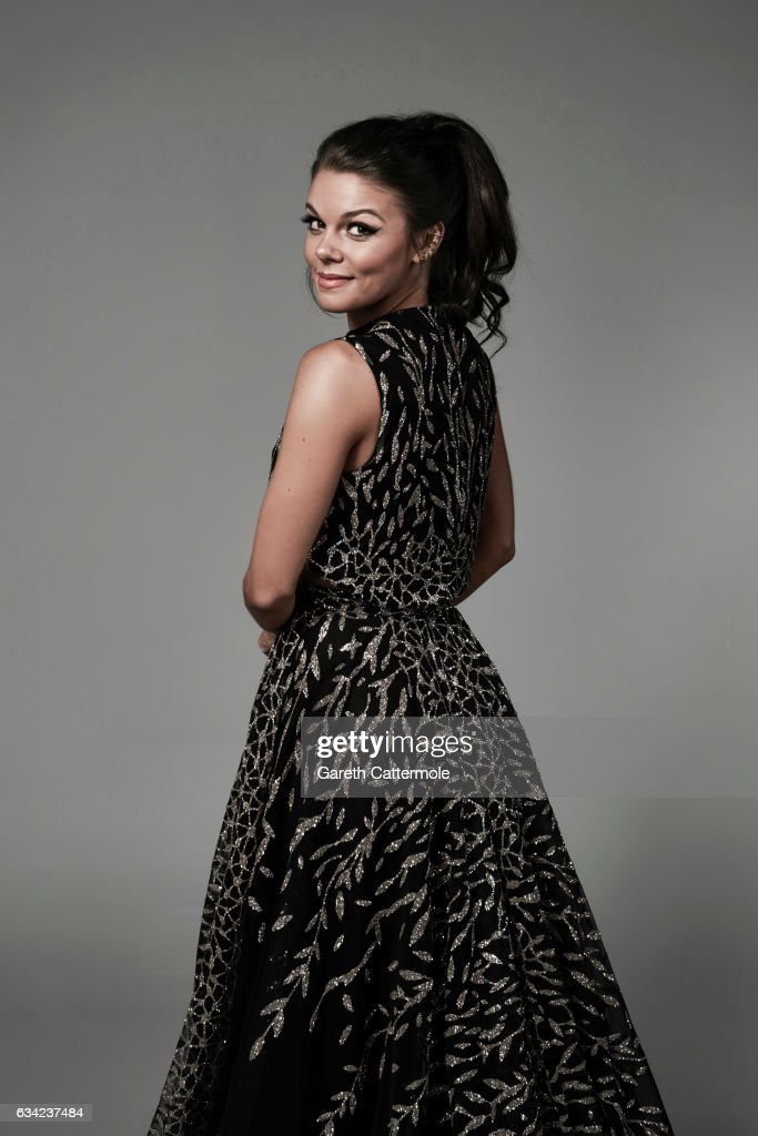 Actor Faye Brookes is photographed at the National Television Awards on January 25, 2017 in London, England.