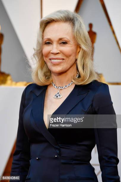 Actor Faye Dunaway attends the 89th Annual Academy Awards at Hollywood Highland Center on February 26 2017 in Hollywood California