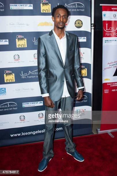 Actor Faysal Ahmed attends the 9th Annual LA Italia Film Fashion and Art's Festival closing night awards ceremony hosted at the TCL Chinese Theatre...