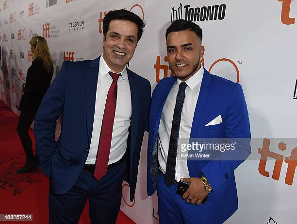 Actor Fazal Hakimi attends the Hyena Road premiere during the 2015 Toronto International Film Festival at Roy Thomson Hall on September 14 2015 in...