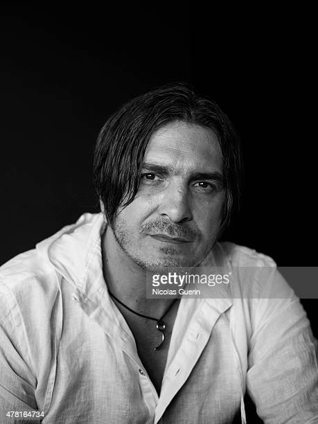 Actor Fedja Stukan is photographed for Self Assignment on May 15 2015 in Cannes France