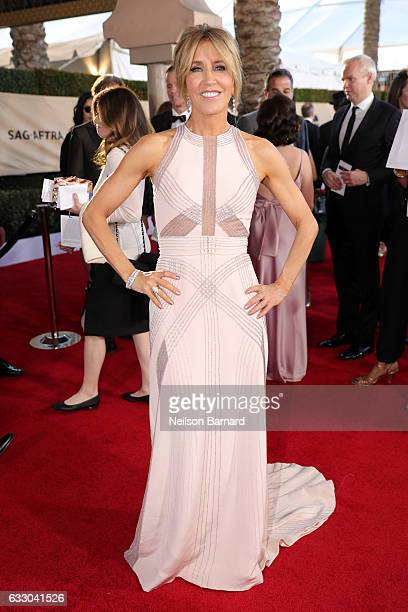 Actor Felicity Huffman attends the 23rd Annual Screen Actors Guild Awards at The Shrine Expo Hall on January 29 2017 in Los Angeles California