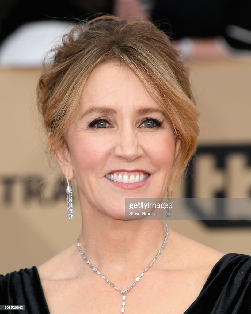 Actor Felicity Huffman attends the 24th Annual Screen Actors Guild Awards at The Shrine Auditorium on January 21, 2018 in Los Angeles, California.