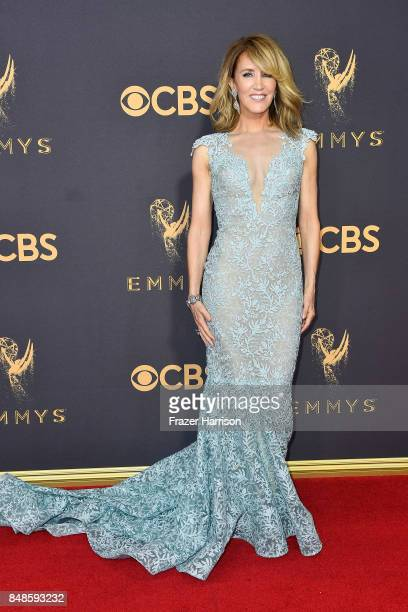Actor Felicity Huffman attends the 69th Annual Primetime Emmy Awards at Microsoft Theater on September 17 2017 in Los Angeles California