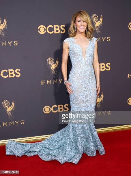 Actor Felicity Huffman attends the 69th Annual Primetime Emmy Awards Arrivals at Microsoft Theater on September 17 2017 in Los Angeles California