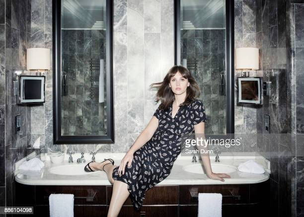 Actor Felicity Jones is photographed for Disney on September 1 2016 in Los Angeles California