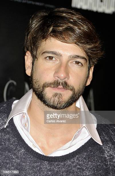 Actor Felix Gomez attends 'Agnosia' photocall at the Palafox cinema on November 4 2010 in Madrid Spain