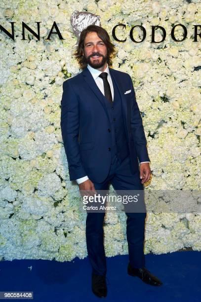 Actor Felix Gomez attends Harper's Bazaar and Anna De Codorniu party at Alma Club on June 21 2018 in Madrid Spain