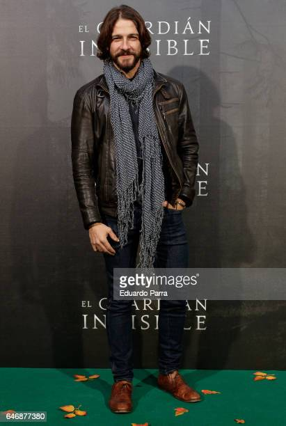 Actor Felix Gomez attends the 'El guardian invisible' premiere at Capitol cinema on March 1 2017 in Madrid Spain