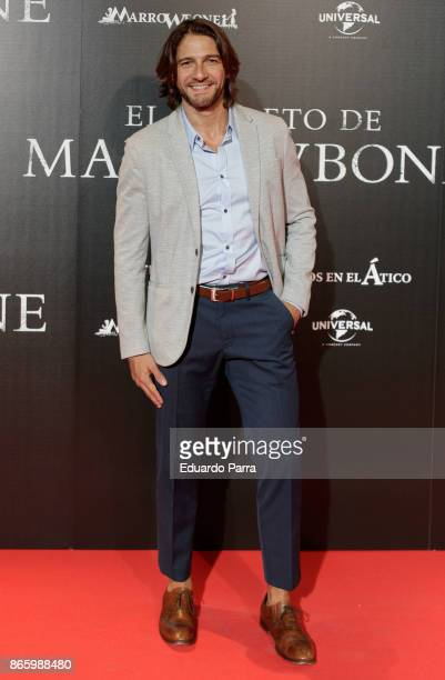 Actor Felix Gomez attends the 'El secreto de Marrowbone' photocall at Capitol cinema on October 24 2017 in Madrid Spain