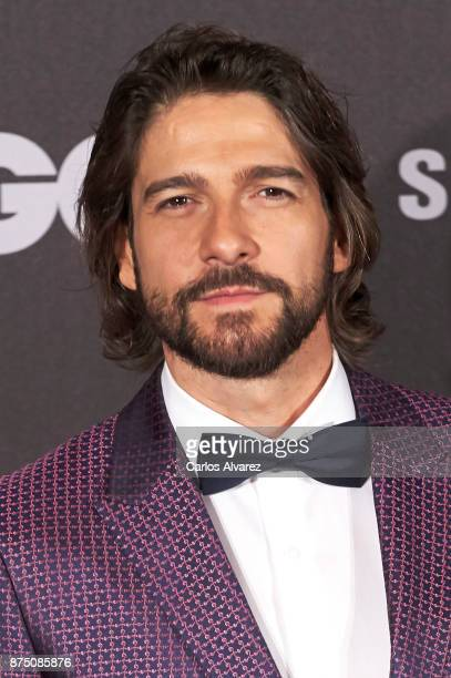 Actor Felix Gomez attends the 'GQ Men of the Year' awards 2017 at the Palace Hotel on November 16 2017 in Madrid Spain
