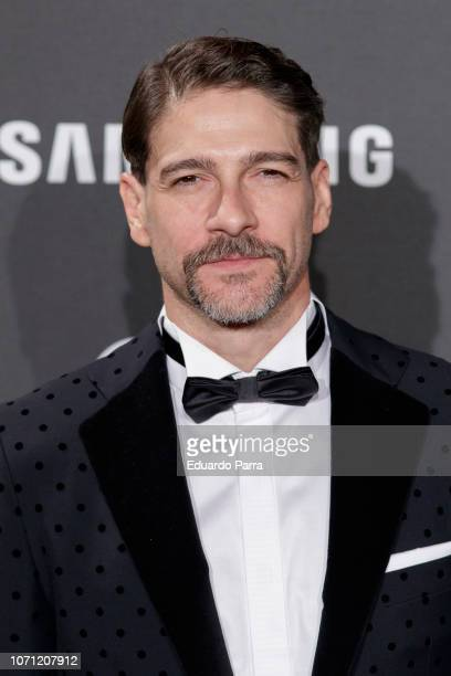 Actor Felix Gomez attends the 'GQ Men of the Year' awards photocall at Palace hotel on November 22 2018 in Madrid Spain