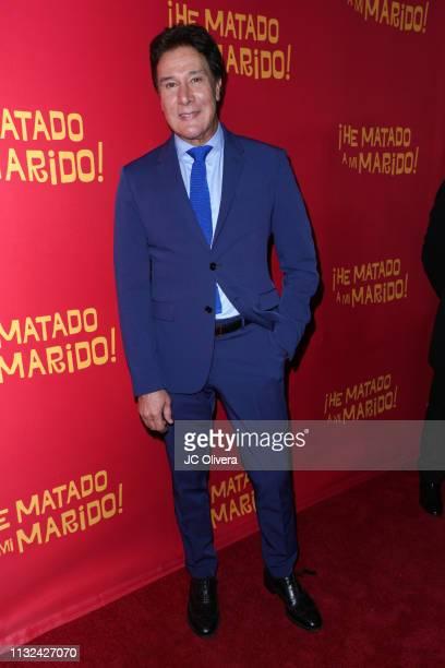 Actor Fernando Allende attends 'HE MATADO A MI MARIDO' Los Angeles Premiere at Harmony Gold Theatre on February 26 2019 in Los Angeles California