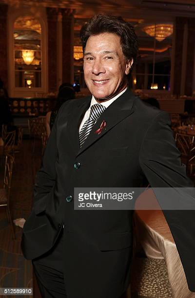 Actor Fernando Allende attends the 19th Annual National Hispanic Media Coalition Impact Awards Gala at Regent Beverly Wilshire Hotel on February 26...