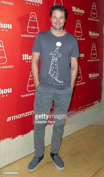 Actor Fernando Andina attends 'Manzana Mahou 330' inaguration party at Santa Barbara palace on June 10 2015 in Madrid Spain