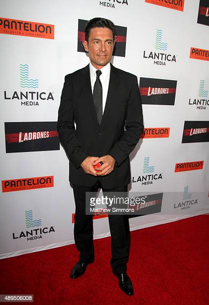 Actor Fernando Colunga attends the premiere of Pantelion Films Ladrones at ArcLight Cinemas on September 21 2015 in Hollywood California