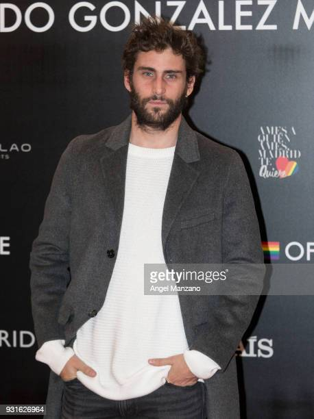 Actor Fernando Guallar attends 'The Best Day Of My Life' Madrid premiere at Callao cinema on March 13 2018 in Madrid Spain