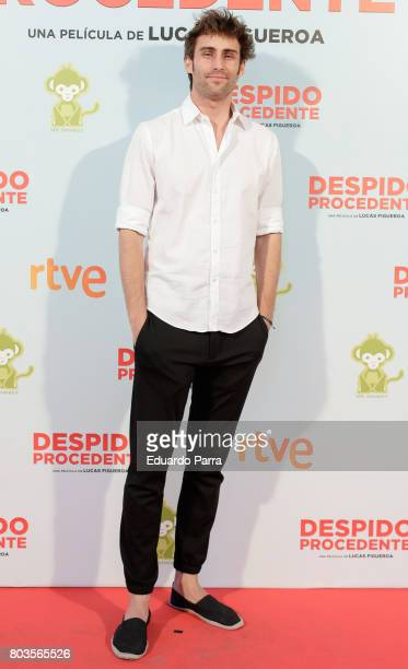 Actor Fernando Guallar attends the 'Despido procedente' photocall at Callao cinema on June 29 2017 in Madrid Spain