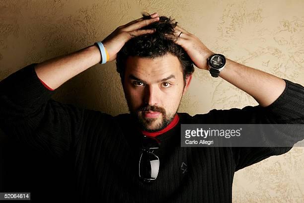 Actor Fernando Rovzar of the film Mantando Cabos poses for portraits during the 2005 Sundance Film Festival January 25 2005 in Park City Utah