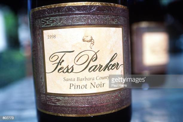 """Actor Fess Parker's wine from his winery May 25, 2000 in Los Olivos, CA. Parker, starred in Disney's """"Davy Crockett"""" series in the 1950's."""