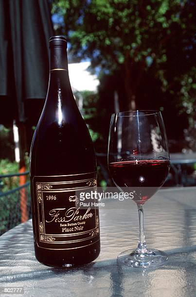 Actor Fess Parker's wine from his winery May 25 2000 in Los Olivos CA Parker starred in Disney's Davy Crockett series in the 1950's