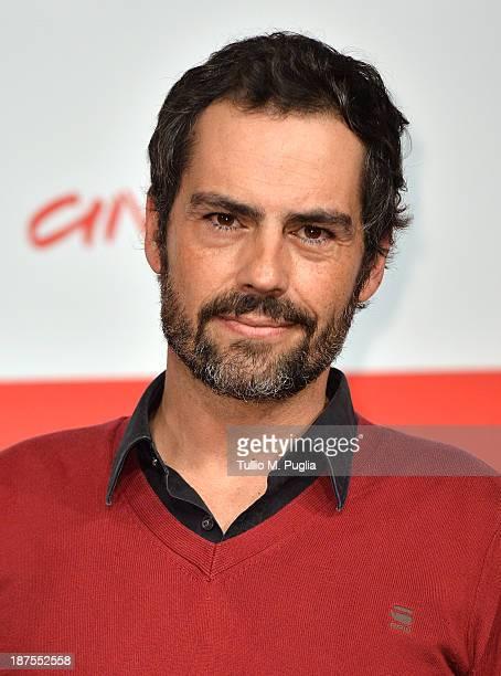 Actor Filipe Duarte attends the 'A Vida Invisivel' Photocall during the 8th Rome Film Festival at the Auditorium Parco Della Musica on November 10...