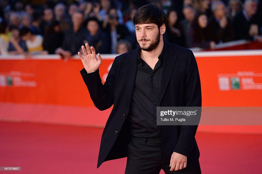 Actor Filippo Scicchitano attends 'Il Mondo Fino In Fondo' Premiere during The 8th Rome Film Festival at the Auditorium Parco Della Musica on November 8, 2013 in Rome, Italy.