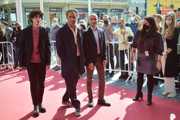 "ESP: Netflix Presents ""E Stata La Mano Di Dio / The Hand Of God"" Photocall - 69th San Sebastian Film Festival"