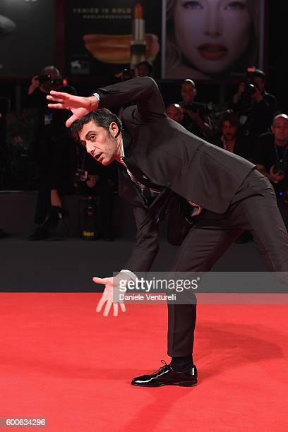 Actor Filippo Timi attends the premiere of 'Questi Giorni' during the 73rd Venice Film Festival at Sala Grande on September 8, 2016 in Venice, Italy.