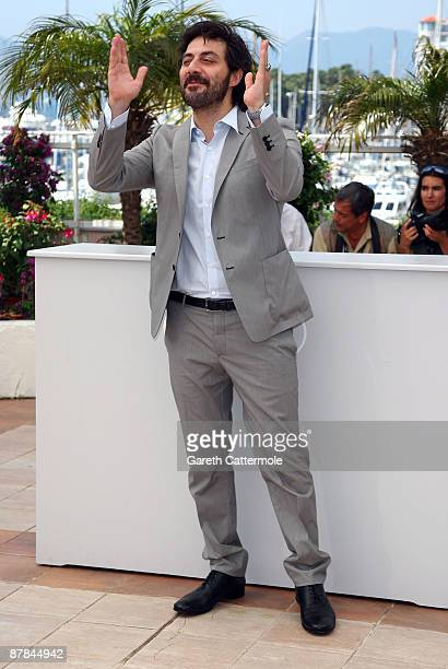 Actor Filippo Timi attends the Vincere Photocall held at the Palais Des Festivals during the 62nd International Cannes Film Festival on May 19th 2009...
