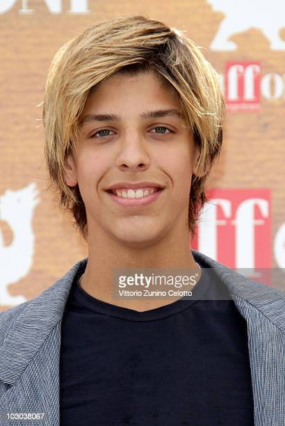 Actor Filippo Vitte attends a photocall during the Giffoni Experience 2010 on July 22 2010 in Giffoni Valle Piana Italy