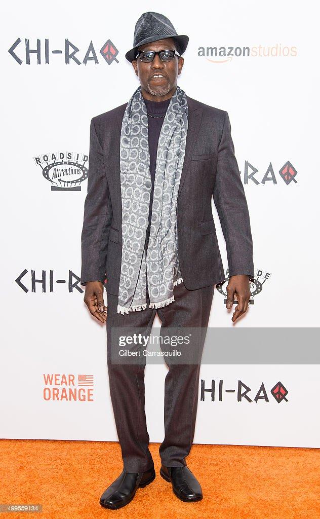 """""""CHI-RAQ"""" New York Premiere : News Photo"""