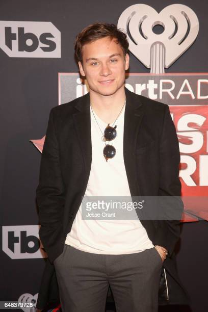 Actor Finn Cole attends the 2017 iHeartRadio Music Awards which broadcast live on Turner's TBS TNT and truTV at The Forum on March 5 2017 in...