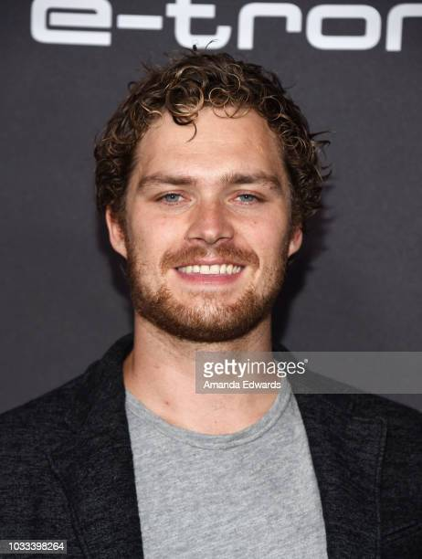 Actor Finn Jones arrives at Audi's celebration of The 70th Emmys at Kimpton La Peer Hotel on September 14 2018 in West Hollywood California