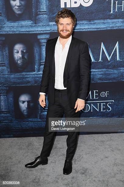 Actor Finn Jones arrives at the premiere of HBO's 'Game of Thrones' Season 6 at the TCL Chinese Theatre on April 10 2016 in Hollywood California